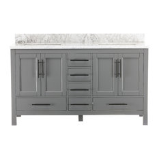 Kendall Gray Bathroom Vanity, 60""