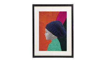 The Beanie -  Personalized Portrait Print