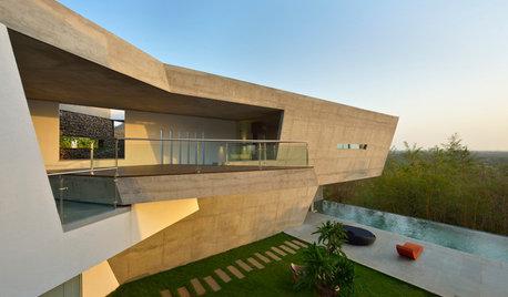 Houzz Индия: Дом со входом на крыше