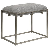 Uttermost Edie Silver Small Bench