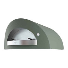 """Opera 47"""" Countertop Pizza Oven, Sideral Green, Gas"""