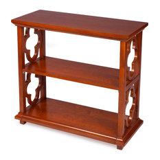Paloma Bookcase in Olive Ash Burl