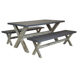 Modern Outdoor Dining Sets by Charles Bentley & Son Ltd