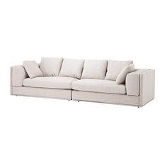 """Off White Sofa, Eichholtz Vermont, Off White, 114""""x40""""x27"""""""