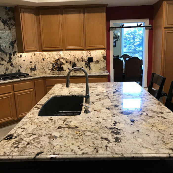 Granite Kitchen & Backsplash Mission Viejo