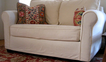 Contemporary Slipcover No Skirt