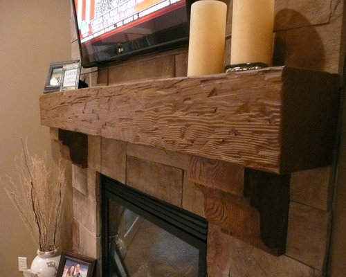 Fireplace Mantels - Fireplace Accessories - Fireplace Mantels - Faux Wood