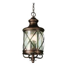 Trans Globe Lighting 5126 Four Light Up Lighting Outdoor Pendant - Rubbed Oil