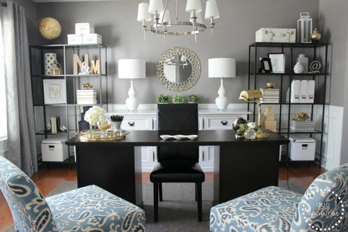 dining room home office | Formal Dining Room Turned Home Office