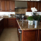 typhoon bordeaux granite traditional kitchen dc metro by granite grannies. Black Bedroom Furniture Sets. Home Design Ideas