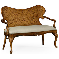 Victorian Loveseats by Jonathan Charles Fine Furniture