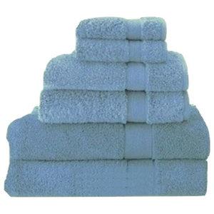 Signature Zero Twist Towels By Espalma, Cornflower, Bath Towel