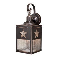 "Ranger 8""W Outdoor Wall Light, Burnished Bronze"