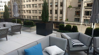 Park Ave Rooftop Planters