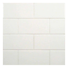 30 sq. ft. of 3x6 White Subway Glossy Ceramic