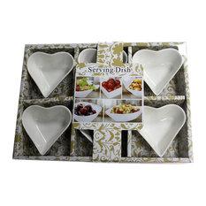 Ceramic Olive Dishes, Set of 6