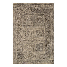 """ED Ellen DeGeneres Crafted by Loloi Boceto Area Rug, Charcoal, 1'6""""x1'6"""" Sample"""