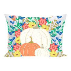 Pumpkins Throw Pillow, 20x20, With Insert