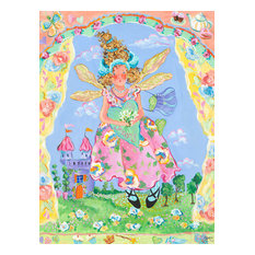 """A Fairy's Child"" Canvas Art by Sharon Furner"