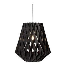 Pilke 28 Pendant Lamp, Black