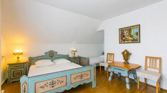 Роспись мебели в австрийском стиле