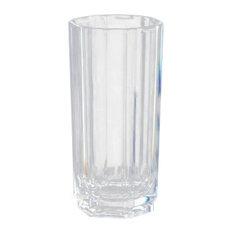 Regal Crystalline Acrylic Highball Glasses, 18 Ounces, Set of 4