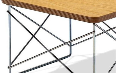 Modern Icons: The Eames Wire Base Table