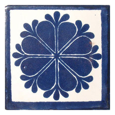 "4""x4"" Mexican Ceramic Handmade Tile #C016"