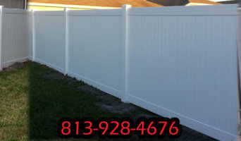 Fence and Brick Pavers Tampa Florida