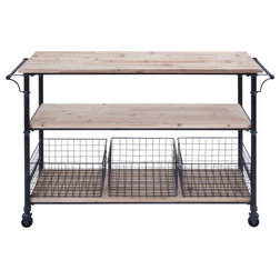Industrial Kitchen Islands And Kitchen Carts by Brimfield & May