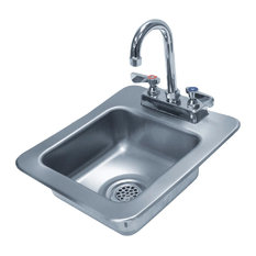 """The Core Group Drop-In Bar Sinks, 14""""x12""""x10"""""""