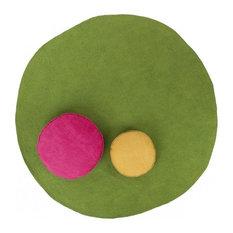 Bonbon Rug - Moss Green