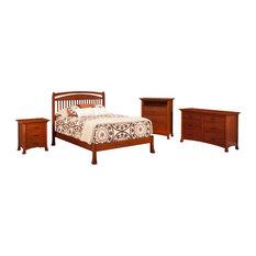 craftsman maple bedroom sets houzz