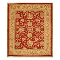 Lotfy & Sons - Mahal 209 - 8ft 0in x 10ft 0in Red