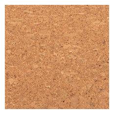 Adhered Floor Tiles Solid Cork Flooring, Rusty
