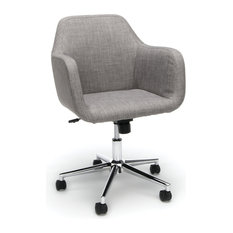 Model Ess 2085 Essentials By Ofm Upholstered Home Desk Chair Gray