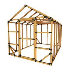 8x12 Standard Greenhouse Kit, With Floor Framing