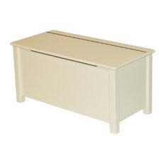 Emma Painted Toy Box, White