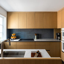 Cherry and Mid-Tone Kitchens