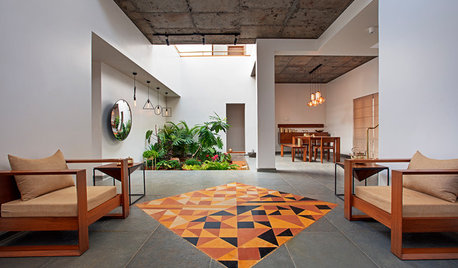 21 Tasteful Tiling Ideas for Living Rooms