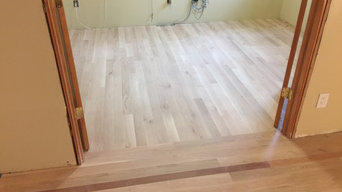 Custom white oak install