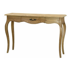Benzara, Woodland Imprts, The Urban Port   Functionally Elegant Petite Drawer  Console Table