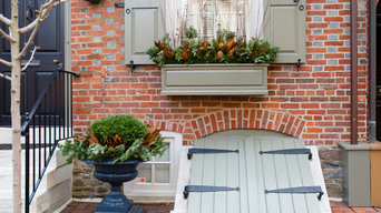 Winter plantings and window boxes
