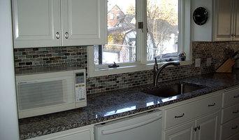 Granite counter top work