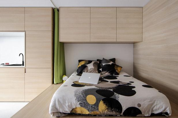 Современный Спальня by ABACO | architecture et design