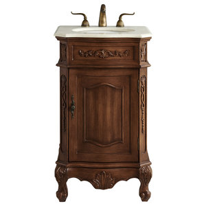 18 Quot Single Bathroom Vanity Set Traditional Bathroom