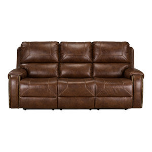 Winslow Manual Motion Swivel Glider Recliner Brown