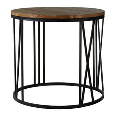 Premier Housewares   Greenwich Round Side Table   Side Tables U0026 End Tables