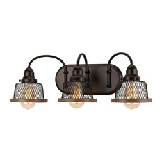 Luxury Vintage Bathroom Vanity Light, Eugene Series, Olde Bronze