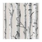 Birch Tree Peel and Stick Wallpaper, 4 Rolls